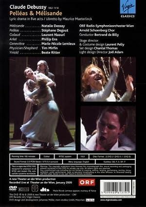Pelleas et Melisande, opera de Claude Debussy (Theater an der Wien 2009) [DVD] [Import]