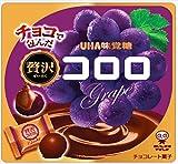 味覚糖 贅沢コロロ グレープ 54g×6袋