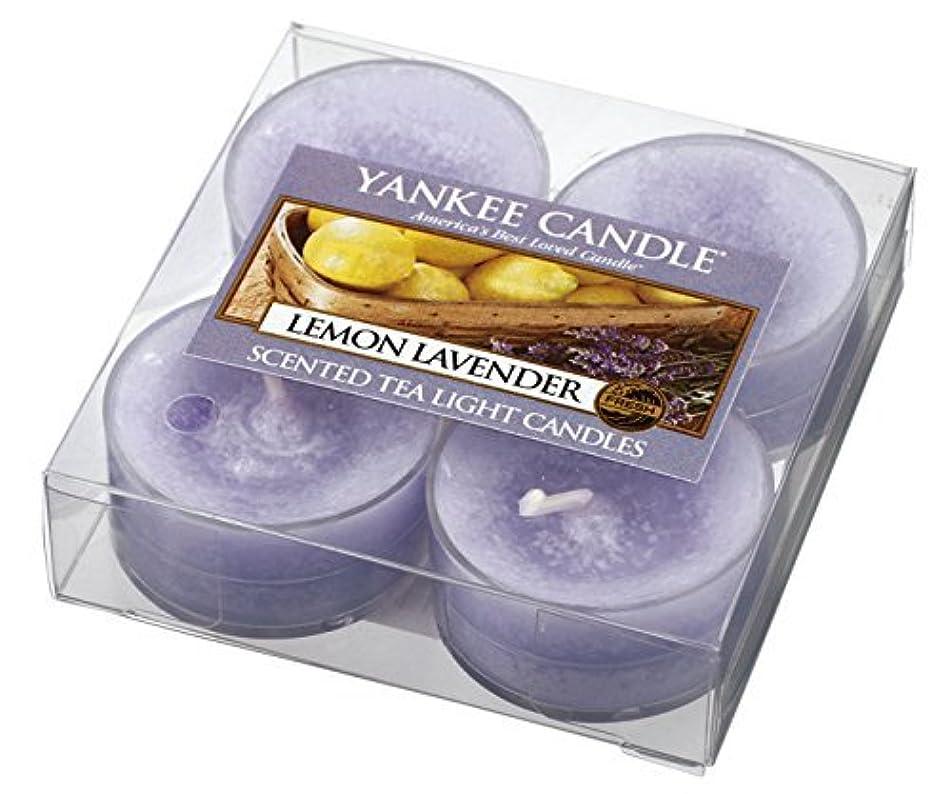 普通の寸前思慮のないYankee Candle kuriakapputexi-raito Pack of 4 Lemon Lavender YankeeCandle Burning Time Approx. 4 – 6 Hours Made...