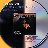Rachmaninoff: Piano Concerto No. 3,Op. 30 / Suite No. 2 for two pianos ~ Argerich (2001-05-08)