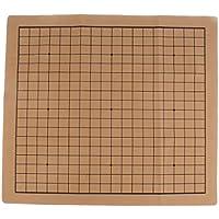 Baosity スエードレザー 折り畳み式 囲碁 チェスボード チェス盤