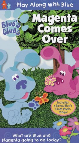 Blue's Clues - Magenta Comes Over [VHS] [Import]