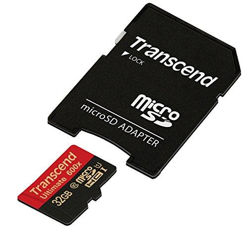 旧モデル Transcend microSDHCカード 32GB UHS-I対応 MLC採用 (最大読込速度90MB/s) TS32GUSDHC10U1
