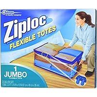 Ziploc柔軟なExtra Extra Large服ストレージバッグ( Pack of 5 )