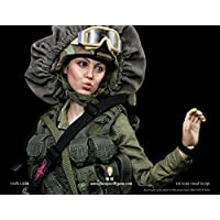 1/6 フィギュア 用 女性 兵士 面白い ヘッド アクセサリー フィメール ヘッド PHICEN/TBLeague対応 FP-H-003