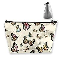 蝶の種類のパターン 収納ポーチ 化粧ポーチ トラベルポーチ 小物入れ 小財布 防水 大容量 旅行 おしゃれ