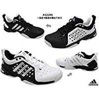 アディダス adidas テニスシューズ 27.5cm バリケード JAPAN オムニ・クレー 国内正規品 AQ2296 (左)ブラック/(右)ホワイト