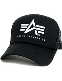 ALPHA INDUSTRIES INC(アルファ インダストリーズ) キャップ メッシュキャップ ブランドロゴ