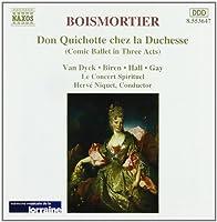 Boismortier: Don Quichotte chez la Duchesse (1996-12-17)