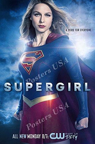 ポスターUSA???Supergirl TVシリーズShowポスター光沢仕上げ???tvs343 24