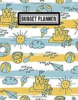 Budget Planner: Beach Budget Planner / Expense Tracker | 8.5x11 | 52 Weeks Undated
