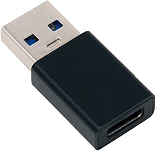 アイネックス USB3.1Gen2変換アダプタ Aオス - Cメス U32AC-MFAD