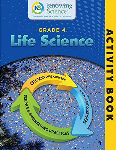 Download Grade 4 Life Science Activity Book (BW) (Knowing Science Activity Books) 1986352439