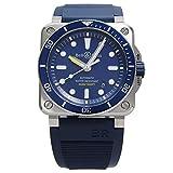 [ベル&ロス] BELL & ROSS 腕時計 BR03-92 ダイバー ブルー BR0392-D-BU-ST/SRB 自動巻き メンズ 新品 [並行輸入品]