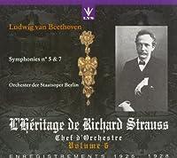 Beethoven;Symphonies 5 & 7