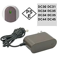 ダイソン dyson 互換 ACアダプター 充電器 充電ランプ DC30 DC31 DC34 DC35 DC44 DC45 PSEマーク取得 互換品 1年保証 純正品 と同じように使える 優れもの