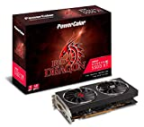 PowerColor AMD Radeon RX5500XT搭載 グラフィックボード GDDR6 8GB RED DRAGONシリーズ AXRX 5500XT 8GBD6-DHR/OC