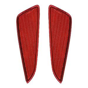 トヨタ C-HR LED リフレクター 車検対応 純正反射機能付き テールランプ TOYOTA トヨタ CHR NGX50 ZYX10用 リフレクターランプ 明るい 追突防止 スモール ブレーキ連動 純正交換 取付簡単 カーパーツ レッドカバー 1年保証 2個セット(トヨタ C-HR用)