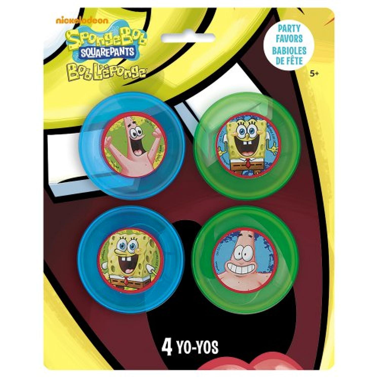 SpongeBob Yo-Yos Party Favors, 4ct by Unique [並行輸入品]