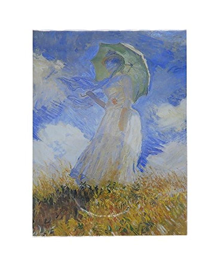 詩人空虚ライド大塚国際美術館 あぶらとり紙 モネ 日傘の女
