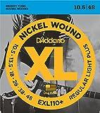 【国内正規品】 D'Addario ダダリオ エレキギター弦 ニッケル Regular Light Plus(10.5-48) EXL-110+ EXL110+