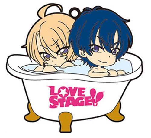 グルーヴガレージ LOVE STAGE バスでふぉ ラバーストラップ 泉水&龍馬 / 4571424950791