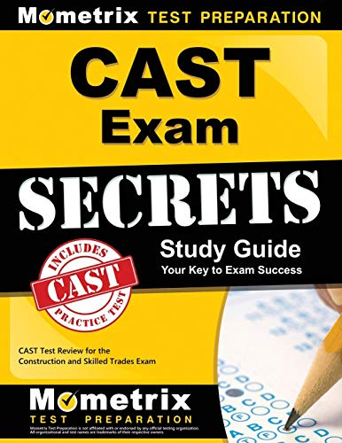 Download CAST Exam Secrets: CAST Test Review for the Construction and Skilled Trades Exam 1609712439