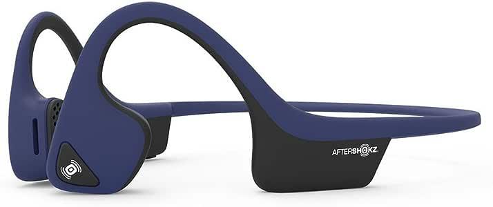 【正規輸入品】AfterShokz AIR 骨伝導ワイヤレスヘッドホン ミッドナイトブルー 30g AFT-EP-000007