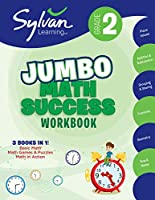 2ND GRADE JUMBO MATH WKBK (SYLVAN MATH SUPER WORKBOOKS)