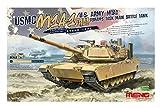 モンモデル 1/35 アメリカ主力戦車 M1A1 AIM/TUSK エイブラムス プラモデル MTS032