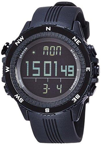 [ラドウェザー] アウトドア腕時計 ドイツ製センサー搭載 高度計/気圧計/温度計/方位計/天気予測 lad004