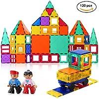 磁石ブロック, マグネットブロック 120ピース 知育玩具 おもちゃ