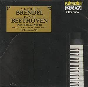 """BEETHOVEN:Piano Sonatas, Vol. 3: Nos. 1/5/6/9/10/13/14 """"Moonlight""""/15 """"Pastoral"""""""