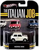 2013 Hot Wheels Retro Entertainment The Italian Job - Morris Mini - White