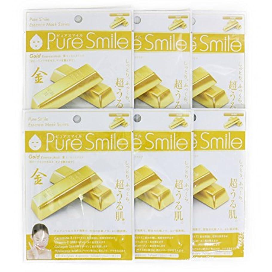 等々尊敬ワインPure Smile ピュアスマイル エッセンスマスク 金 6枚セット