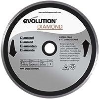 evolution(エボリューション) FURY RAGE兼用 200mmダイヤモンドホイ-ル