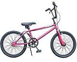 ビーチクルーザー 自転車 20インチ BMX STYLE Californian カリフォルニアン (META PINK)