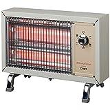 シィーネット 電気ストーブ (800W) CRS401WH