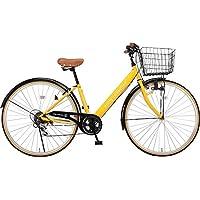 Voldy 完成自転車 27インチ LEDライト CTV-276-B シマノ製6段変速 男性 女性兼用 適正身長155cm以上