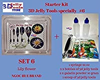 Starter Kit 3D Jelly Tools specially Type 6 - Lily flower by 3D Jelly Tools