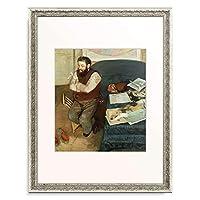 エドガー・ドガ Edgar Degas 「Diego Martelli. 1879」 額装アート作品