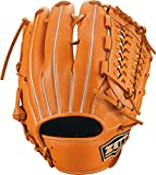 ゼット(ZETT) 軟式野球 グラブ ウイニングロード オールラウンド用 右投げ用 オレンジ×オークブラウン(5636) サイズ:6 BRGB33160