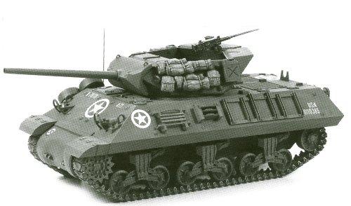 スケール限定シリーズ 1/35 アメリカ M10 駆逐戦車 89554