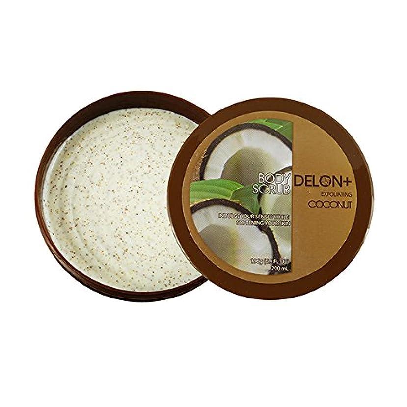 アコー土砂降り工夫するDelon オリジナル・ボディバター デロンボディバター(ココナッツ)