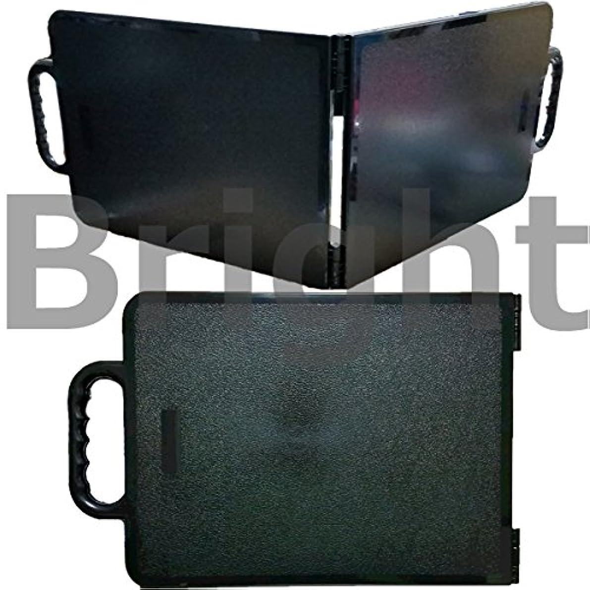 ダイヤモンドとティームリーTBG 2面 バックミラー QD ブラック