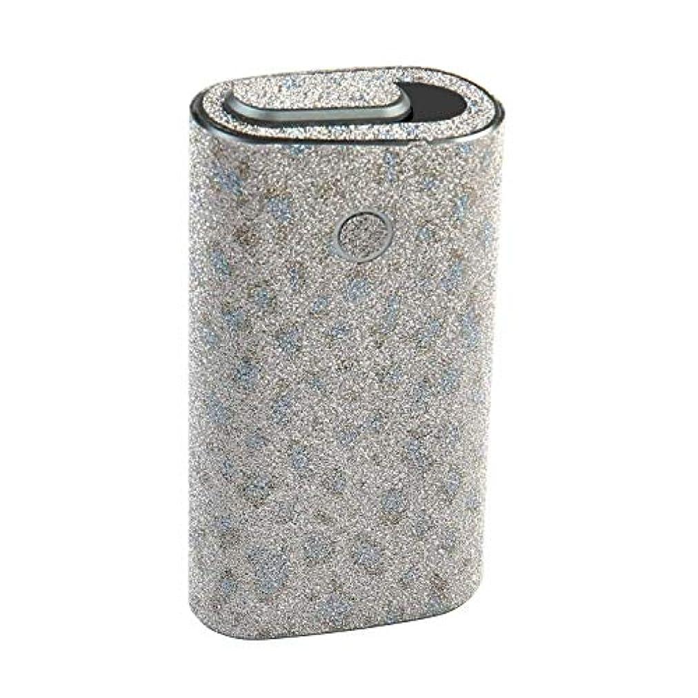 失態里親保有者Diy-Skin glo(シリーズ2) 360°フルセット カバー ケース 保護 フィルム ステッカー デコ アクセサリ シール グロー専用 全面対応 電子タバコ すり模様