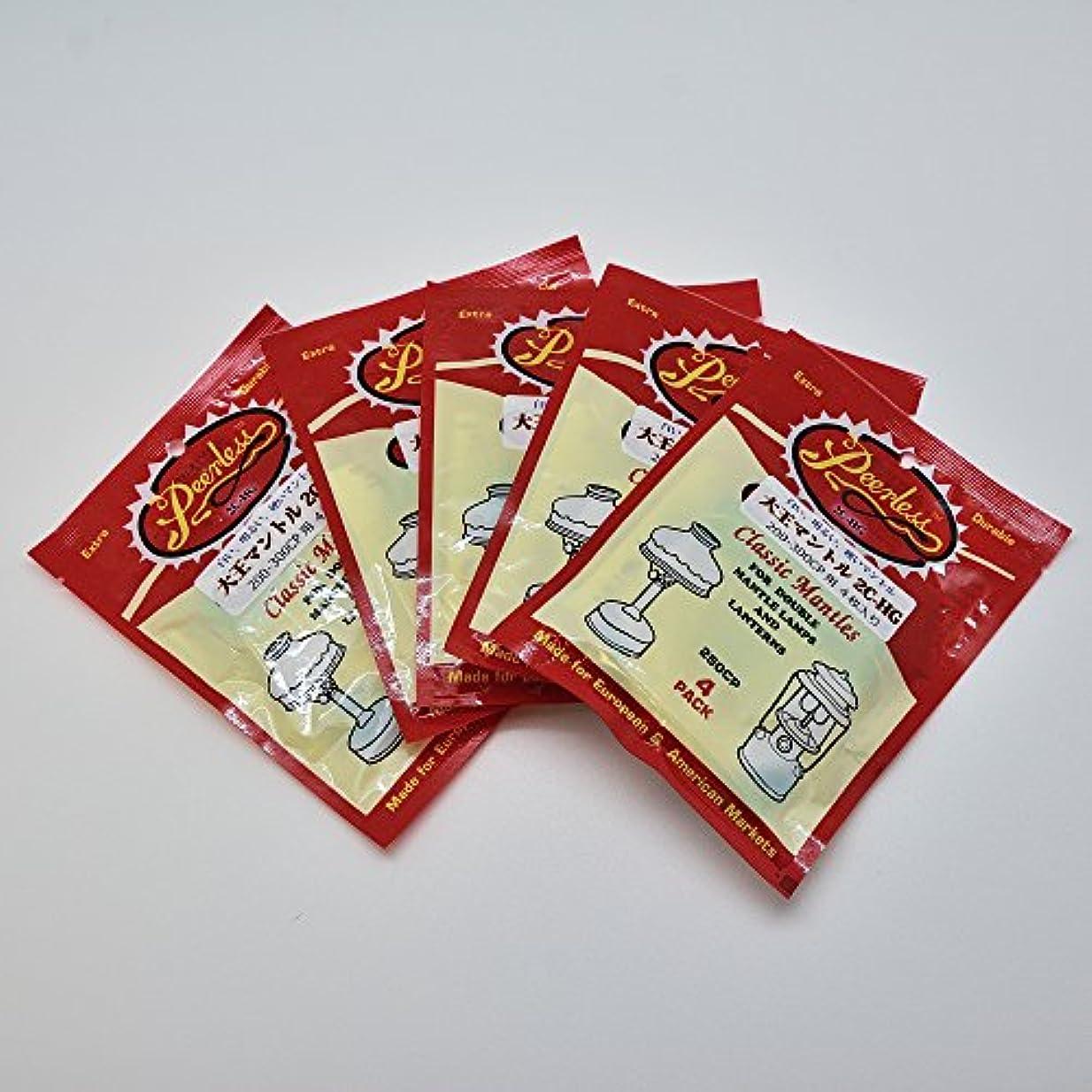 スコア下手いま大王マントル お徳用5パックセット 2C-HG 20枚 200-300CP用 赤パッケージ