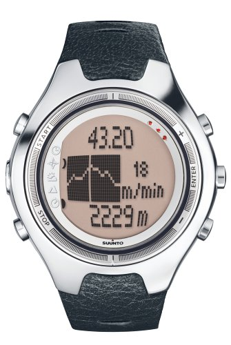 Suunto X6M Wrist-Top Computer Watch with Altimeter, Barometer, Compass, Clinometer and PC-Interface by Suunto