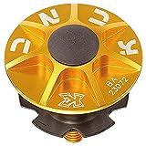 KCNC 自転車 軽量 ヘッドパーツセット SLアヘッドキャップセット  ゴールド 1-1/8 506309