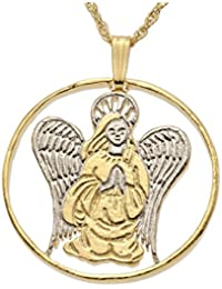 Praying Angelペンダントとネックレス